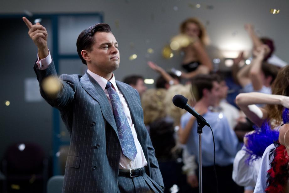 Cena do filme: O Lobo de Wall Street